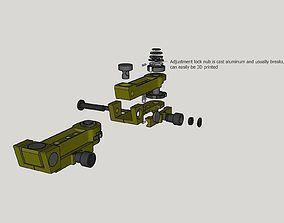 3D print model Elcan M145 Adjustable Mount Scope Base
