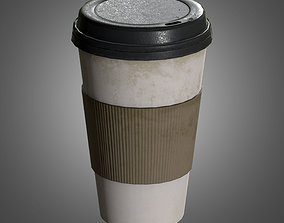 Commercial Coffee Cups - PBR Game Ready 3D asset