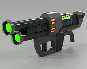 Rick and Mortys Energy Gun 3D printable model