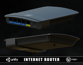 3D asset Internet Router