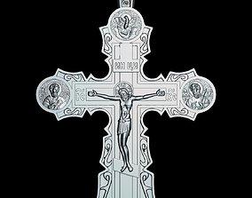 81 RELIGION ICON Cross Crucifix 3D print model