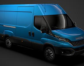 3D Iveco Daily Van L3H2 2020