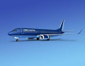 Boeing 737-800 Omni Charter 3D model