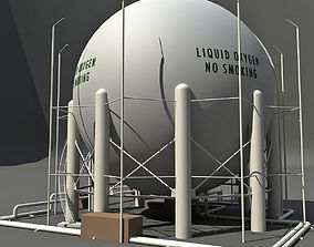 3D White Oxygen Storage