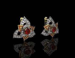 3D print model earrings J 005