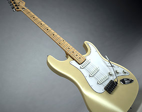 Fender Stratocaster Vintage White 3D