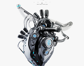 Robotic heart IV model 3D