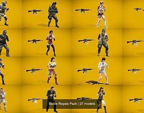 3D Battle Royale Pack