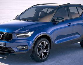 Volvo XC40 R-design 2018 3D