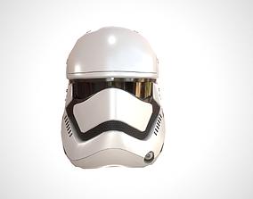 3D asset Star Wars Stormtrooper Helmet - White