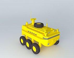 ARGO A 30 Exploration vessel system 3D model