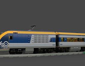 LEGO City - Passenger Train 2018 3D