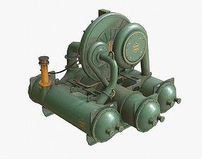 Industrial Compressor 3D asset