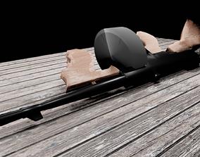 3D model Mob weapons
