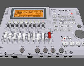 Digital Track Recorder - Mixer 3D model