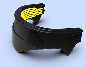 3D printable model Cyberpunk collar cosplay