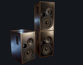 3D model Speakers Game-Ready PBR