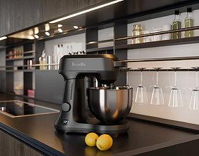 3D ProViz 001-Breville in Kitchen