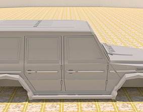 3D MERCEDES BENZ G550 SUV G-WAGEN 2017