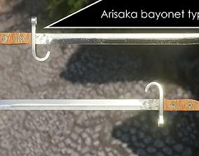 Arisaka bayonet type 30 3D asset