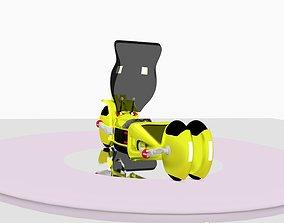 Futuristic Bike 3D model