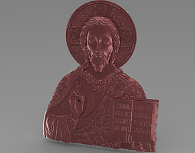 3D printable model christ icon