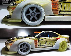 3D print model Widebody Set for Silvia S15 PANDEM Style 2