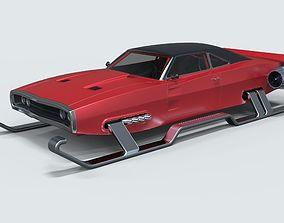 3D model Dodge of Santa