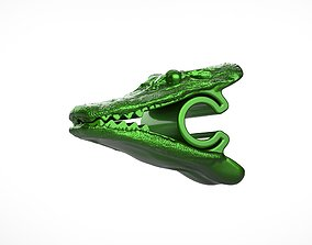 3D print model Alligator Chip Clip