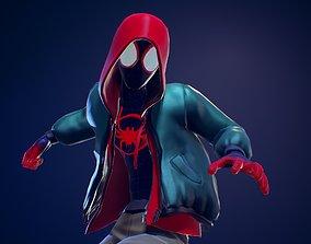 Miles Morales Hoodie RIGGED 3D