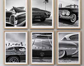 3D JUNIQE Car picture set-01