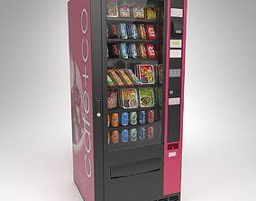 3D model Omnimatic Snack Vending Machine P90 Blender