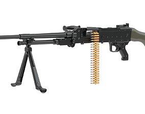 3D FN MAG Machine Gun