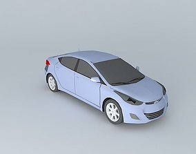 3D 2011 Hyundai Elantra