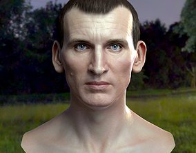 realtime 3d model Christopher Eccleston head