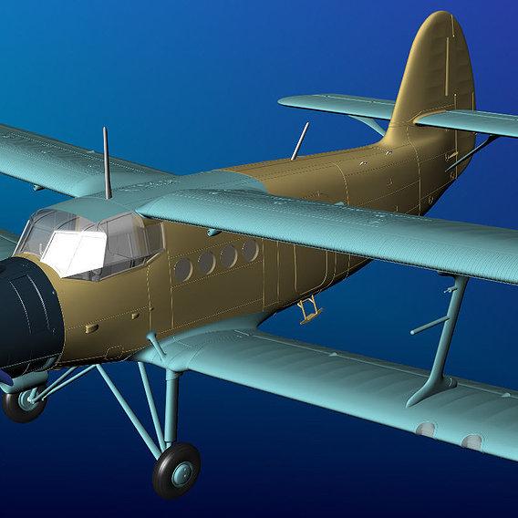 "Scale model aircraft, the Antonov ""An-2"""
