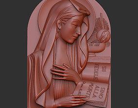 Madonna Virgo Fidelis 3D print model sculpture