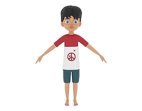 kind 3D Boy Character