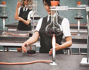 Chemistry Classroom 3D model
