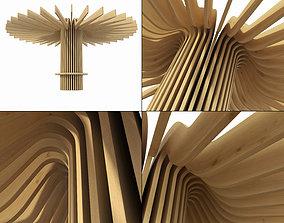 Parametrc ring column decor n1 3D