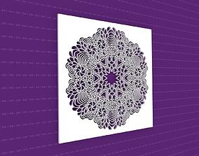 pattern 3D Mandala