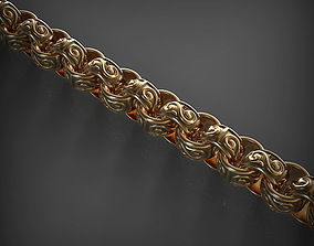 Chain Link 36 3D print model