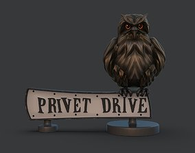 3D print model Privet drive sign rowling