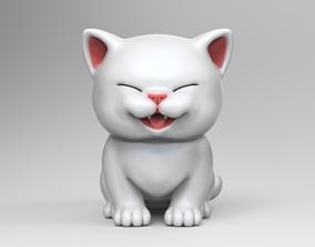 Cute Kitten V2 STL 3D print model