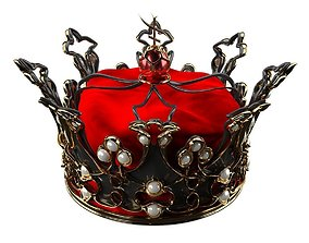 3D model Queens Crown