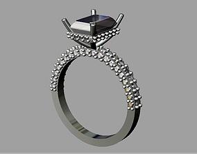 3D printable model Diamond Engagement Ring rings
