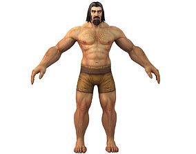 3D model Human Male Full Rig and HumanIK