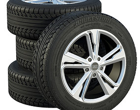 3D model Audi wheels