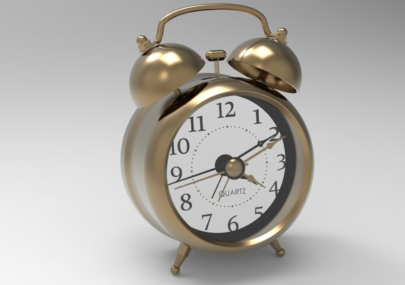 Twin Bell Alarm Clock - Old Fashion