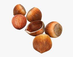 3D Hazelnuts 03